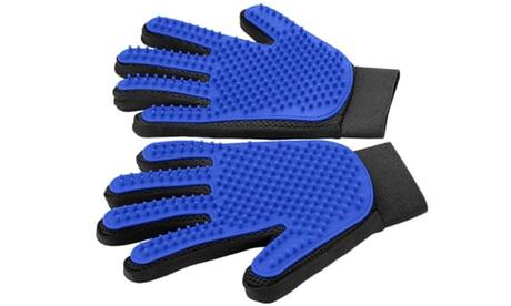 Wellmax Premium Pride and Groom Pet Shed Glove Pet Grooming Glove Grooming Brush 3229abb9-2986-40da-968b-5ae4a5fcf273