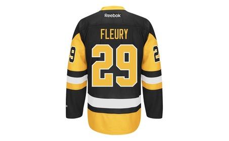 Marc-Andre Fleury Pittsburgh Penguins Black Reebok Premier Jersey d7838d3c-6bcb-4031-9393-d5c9d55ed2a5