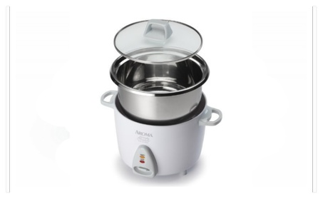 Aroma Simply Stainless 6 Cup Rice Cooker, White 6c8a4f07-9ad8-45cf-959e-a6aa10321834