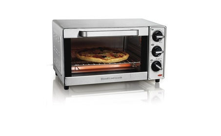 Hamilton Beach 31401 Stainless Steel 4 Slice Toaster Oven Broiler 9a90ff79-0aef-4a40-95ec-b85b65cfded7