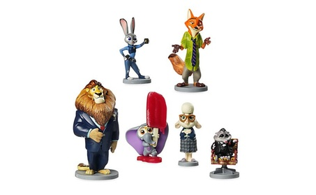 Disney Zootopia Exclusive 6 Figure Character Play Set -New 2400a631-b935-41b1-beb3-f98ec89109e5