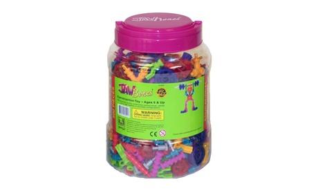 Jawbones Construction Toy - 500 Piece Set 0516b8d2-5a04-4b2c-a161-6e3e9c32a435