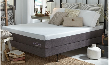"Comfort Essentials Classic 10"" Custom Comfort Memory Foam Mattress"