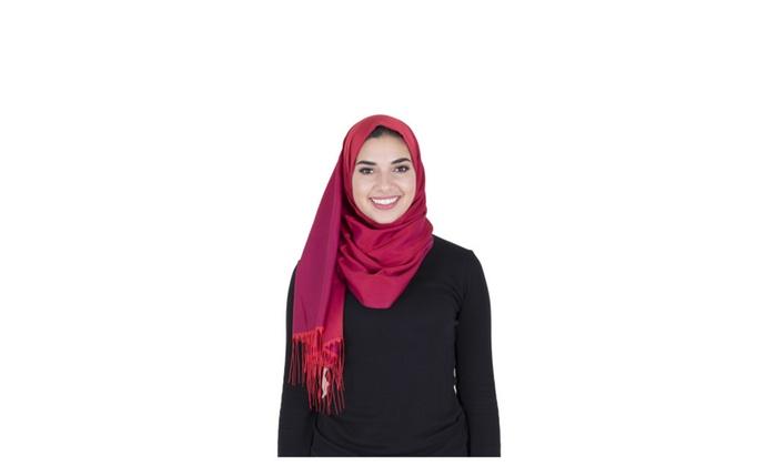 Sarar Shawl - Red