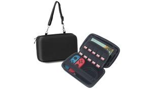 Insten Car Mount Protective EVA Hard Travel Case For Nintendo Switch