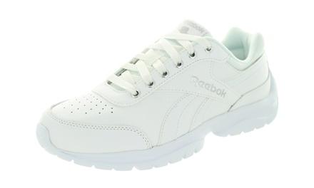 tanio na sprzedaż rozmiar 40 wiele stylów Reebok Womens Royal Lumina Pace Wide D Classic Shoe - V67309 - White