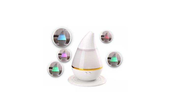 USB Aroma Diffuser Atomizer Air Humidifier LED Ultrasonic Purifier