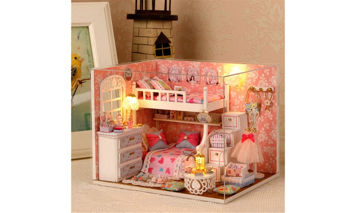 Up To 34% Off on DIY 3D Dollhouse Paper Miniat    | Groupon