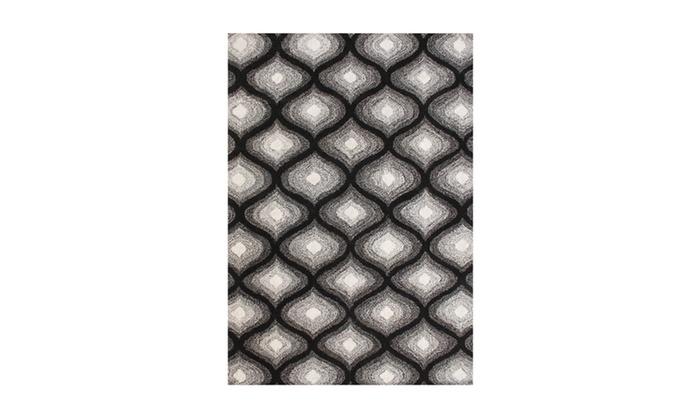 Alliyah Handmade Black New Zealand Bled Wool Rug Groupon