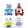 20-30cm Undertale Game Sans Papyrus Asriel Toriel Stuffed Plush Toys
