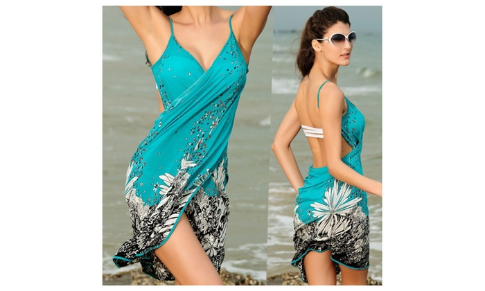 Beach Dress Bikini Swimwear Cover Up Sarong Sexy Wrap Pareo
