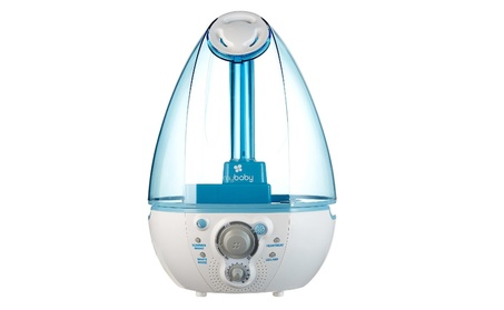 myBaby SoundSpa Ultrasonic Humidifier, Blue/White 3e578496-a71a-4278-8eb0-c52d61387a2d