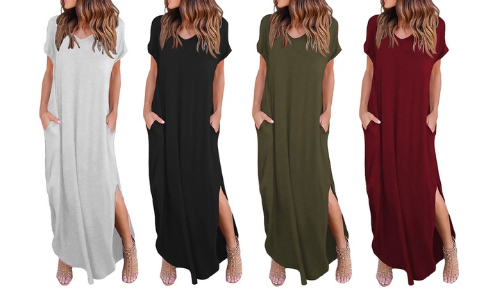 Off on Women's Summer Maxi Dress Cas