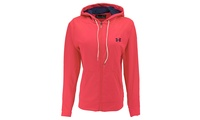 Deals on Under Armour UA Women's Full-Zip Hoodie