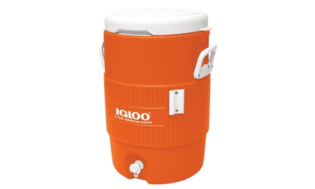 Igloo 5 Gallon Seat Top Orange 8ec7b282-9f97-4c96-9d80-970ed91ad97b
