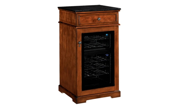 Tresanti Dc997c240 2424 Madison Wine Cooler Cabinet Rose Cherry Groupon