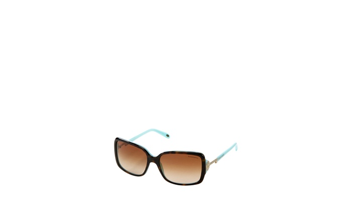 92125968dbed TIFFANY CO. 56mm Tiffany Keys Rectangular Sunglasses