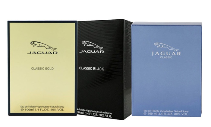 Jaguar Classic Blackblue Or Gold By Jaguar Eau De Toilette 34 Oz