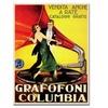 'Grafafoni Columbia' Canvas Rolled Art