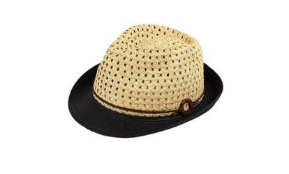 807a35181ef Shop Groupon AccessHeadwear Sun Styles Summer Ladies Trilby Fedora for  Hiking Beach