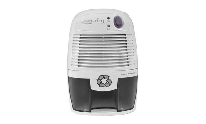Eva-dry Edv-1100 Elctric Petite Dehumidifier With Whisper Technology