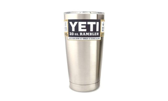 YETI 20 oz. Rambler Tumbler Cup With Lid