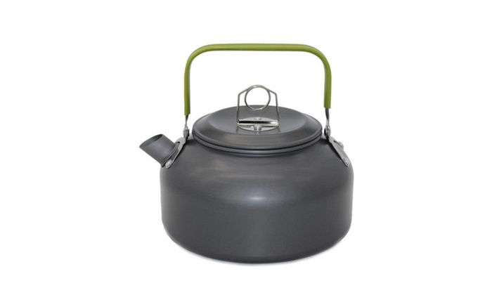 Outdoor Camping Hiking Kettle Coffee Pot Portable Teapot