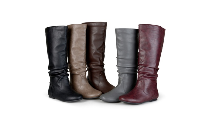 Journee Collection Womens Extra Wide Calf Riding Boots