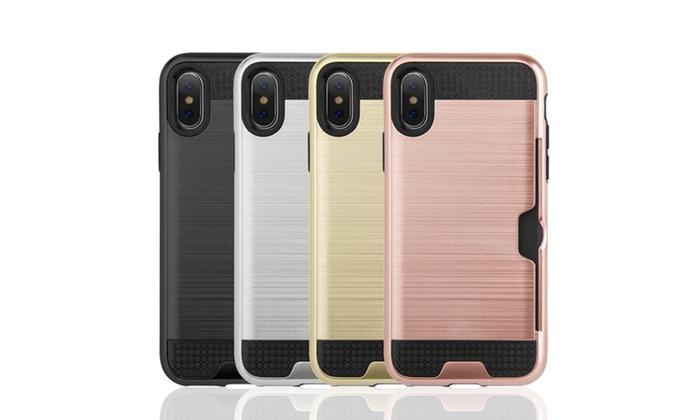 Iphonex Phone Cases: IPhoneX Hybrid Card To Go Case