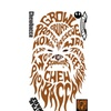 Roommates Star Wars Typographic Chewbacca Giant Wall Decals