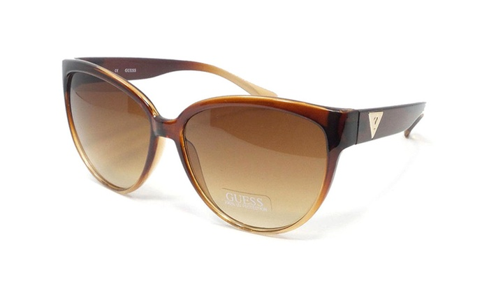 Guess GUF220 BRN 34A Brown Frame / Brown Gradient Lenses