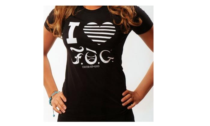 I LOVE Favor Of God T-shirt (Women)