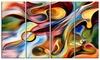 Music beyond the Frames - Music Abstract Metal Wall Art