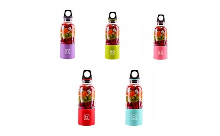 Portable Juicer Cup USB Rechargeable Electric Automatic Juicer Blender 3e0e3fe9-c87d-4188-abb6-9012cd9425f1