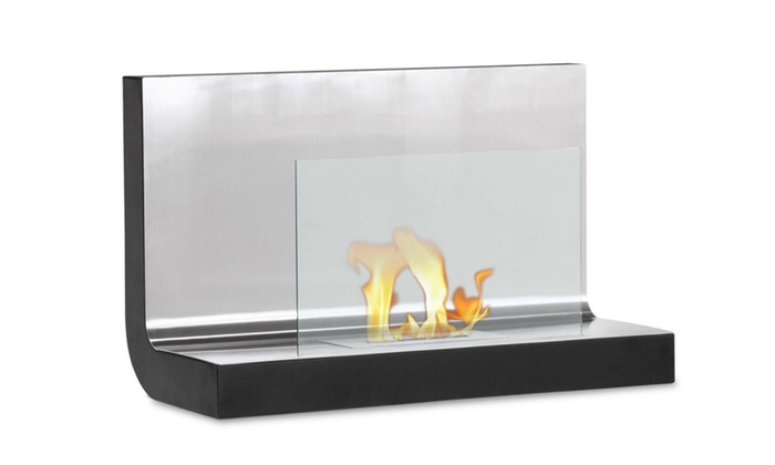 Ferrum - Wall Mounted Ventless Ethanol Fireplace By Ignis