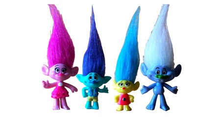 5Pcs/Set Trolls Dolls Action Figures with Magic Hair Movie Model Toys 7f8acd4d-f776-400e-bab1-dcb02d6cf3f7