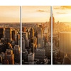 Retro & New London, San Diego, Chicago, New York Skylines Multiple Opt