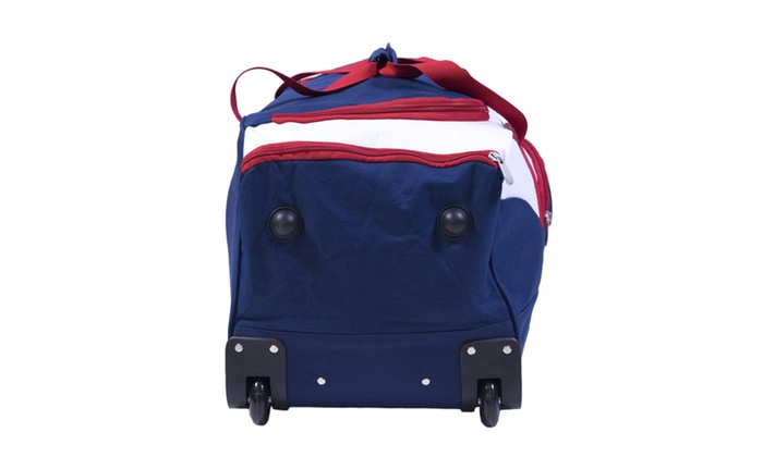 5f2f03417ffd U.S. Polo Assn 30in Deluxe Rolling Duffle Bag | Groupon