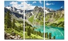 Lake on Green Valley - Photography Landscape Metal Wall Art