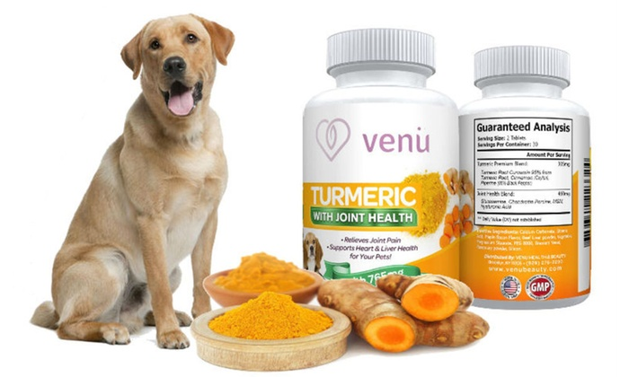 Venu Turmeric Dog Chews (120-Pack)