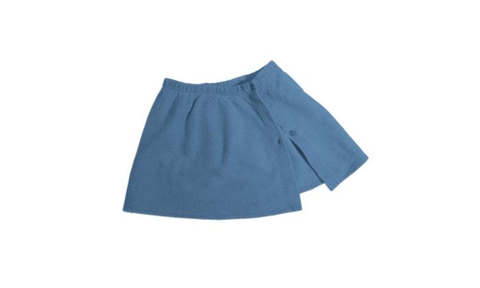 Chammyz Wrap Skirt – Denim Blue
