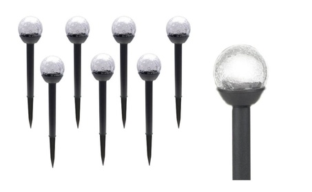8 Pack Solar Crackle Globe Lights All Weather Resistant Lights d5f26ced-877e-489e-a246-1be9372b107a