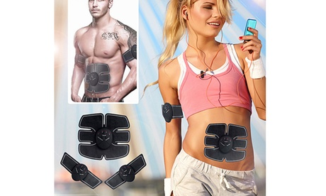 Premium Slim Design Six Patches Ab Muscle Stimulator for Men and Women bf415a36-1987-4998-83e0-21c5292b1787