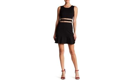 Sheer Mid Riff A-Line Dress 7e1e7677-186e-4921-99a3-df844d179fd1