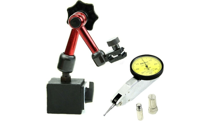 Universal Magnetic Metal Base Holder Stand Dial Test Indicator Flexible Tool