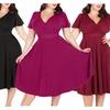 Fashion Women Big Plus Size Dresses Party Cassion XXL 3XL 4XL 5XL