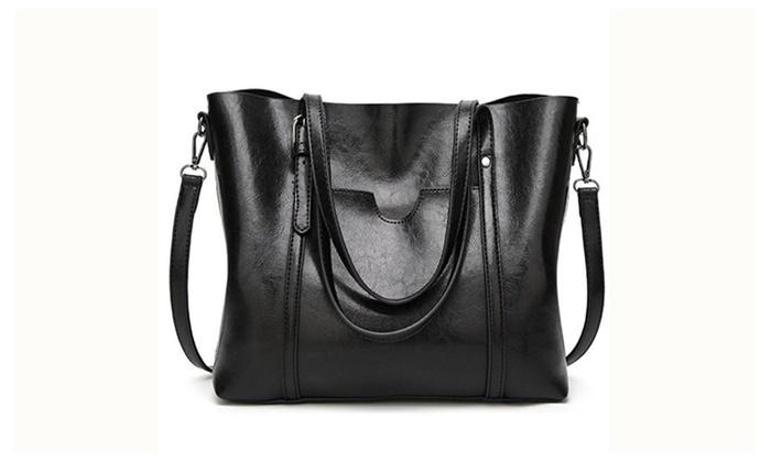 Women Top Handle Satchel Handbags Shoulder Bag Tote Purse | Groupon