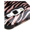 Insten Tuff Zebra Dual Silicone Case For Galaxy Core Prime Rose Gold