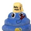 Lovely Baby Poo Cap Emoji Cushion Toy