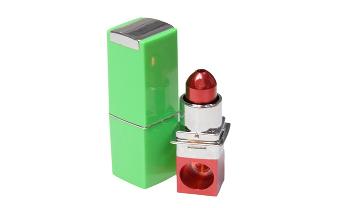 RedBox: Stealth Discreet Hidden Lipstick Pipe Red, Pick Your Favor Cover